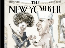 Blitt's New Yorker Cover Cartoon