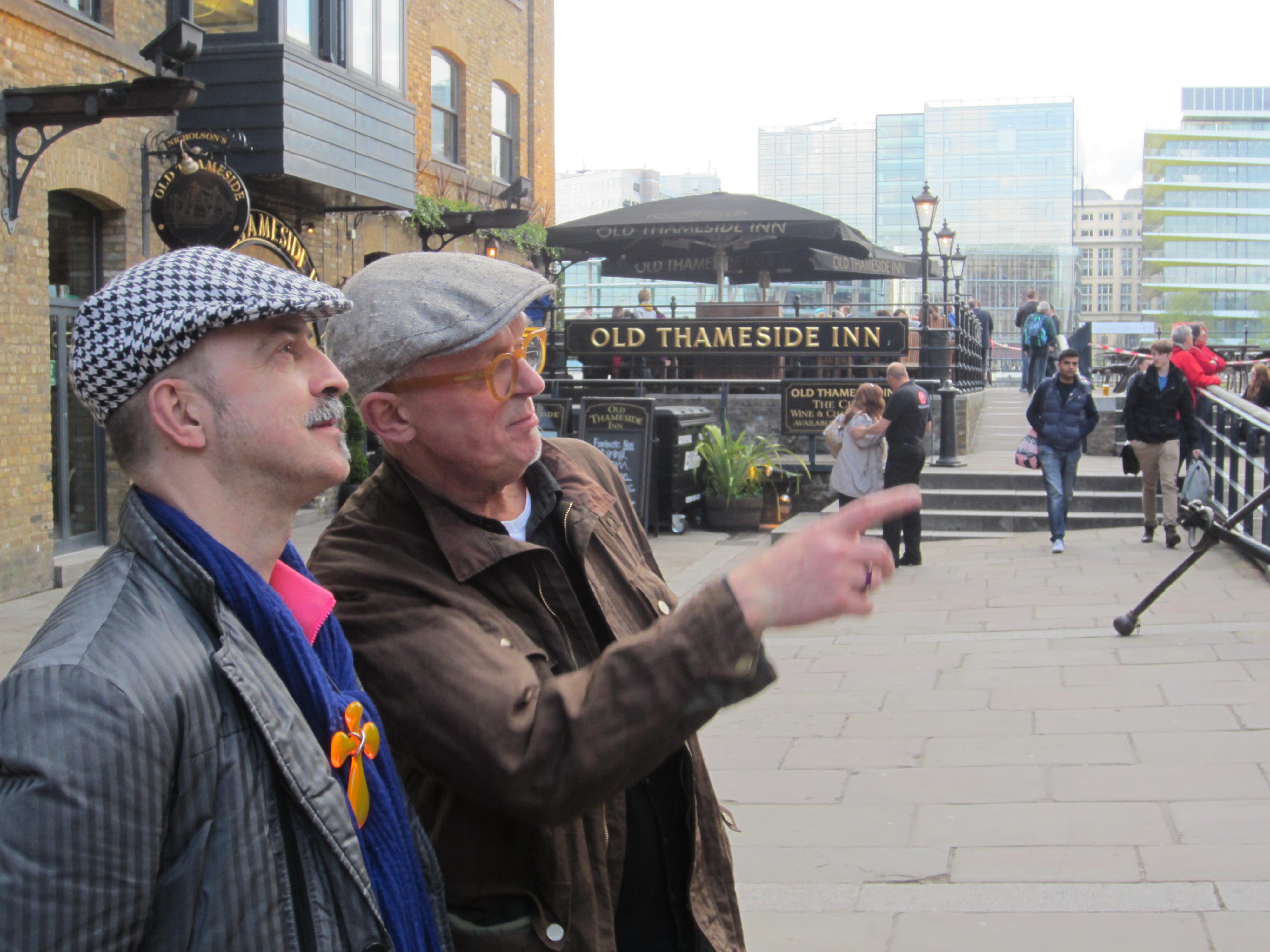 Paul Derrez & Willem Hoogstede, Londen, 2013, portret