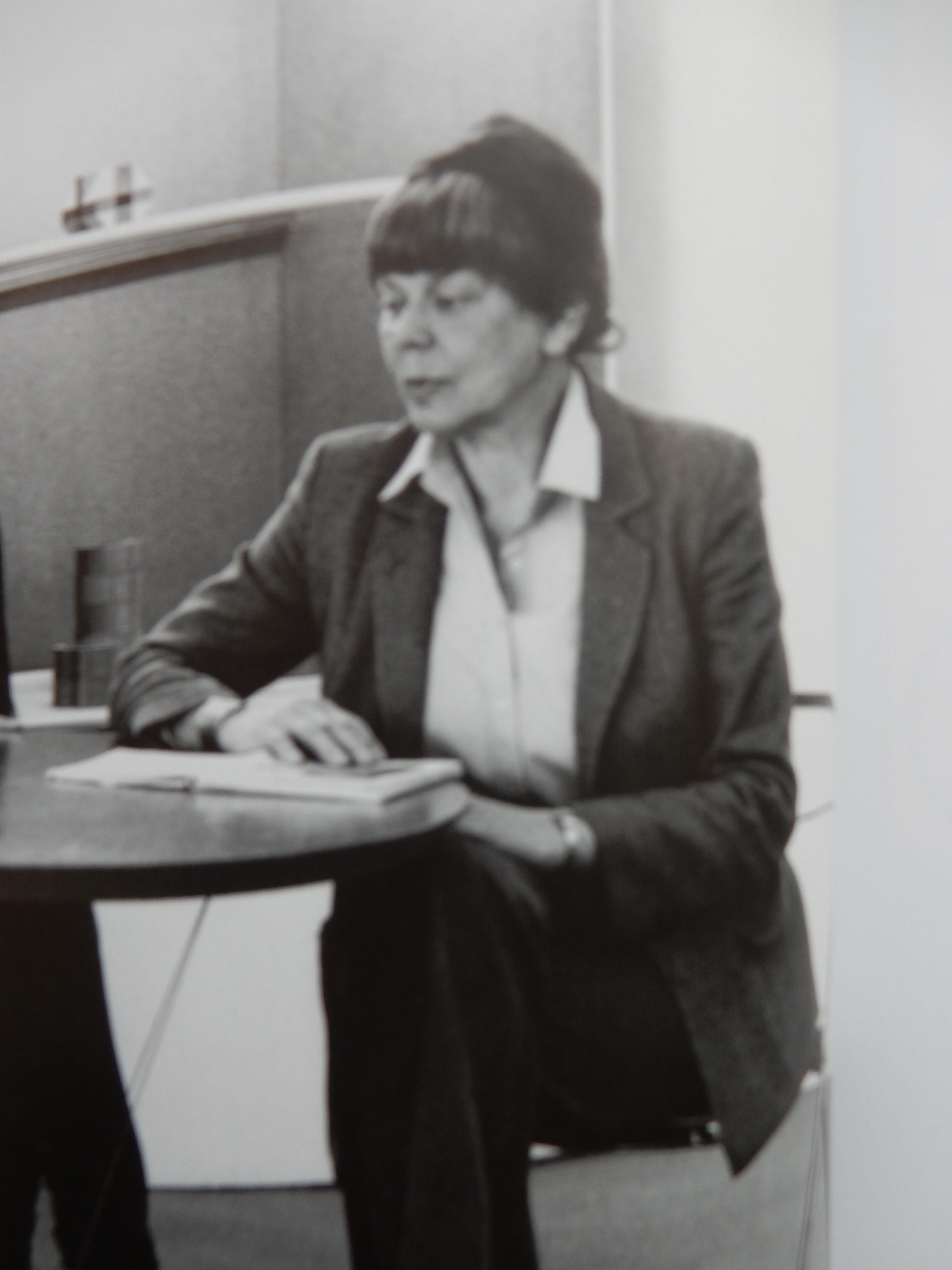 Margje Blitterswijk, 1982, portret