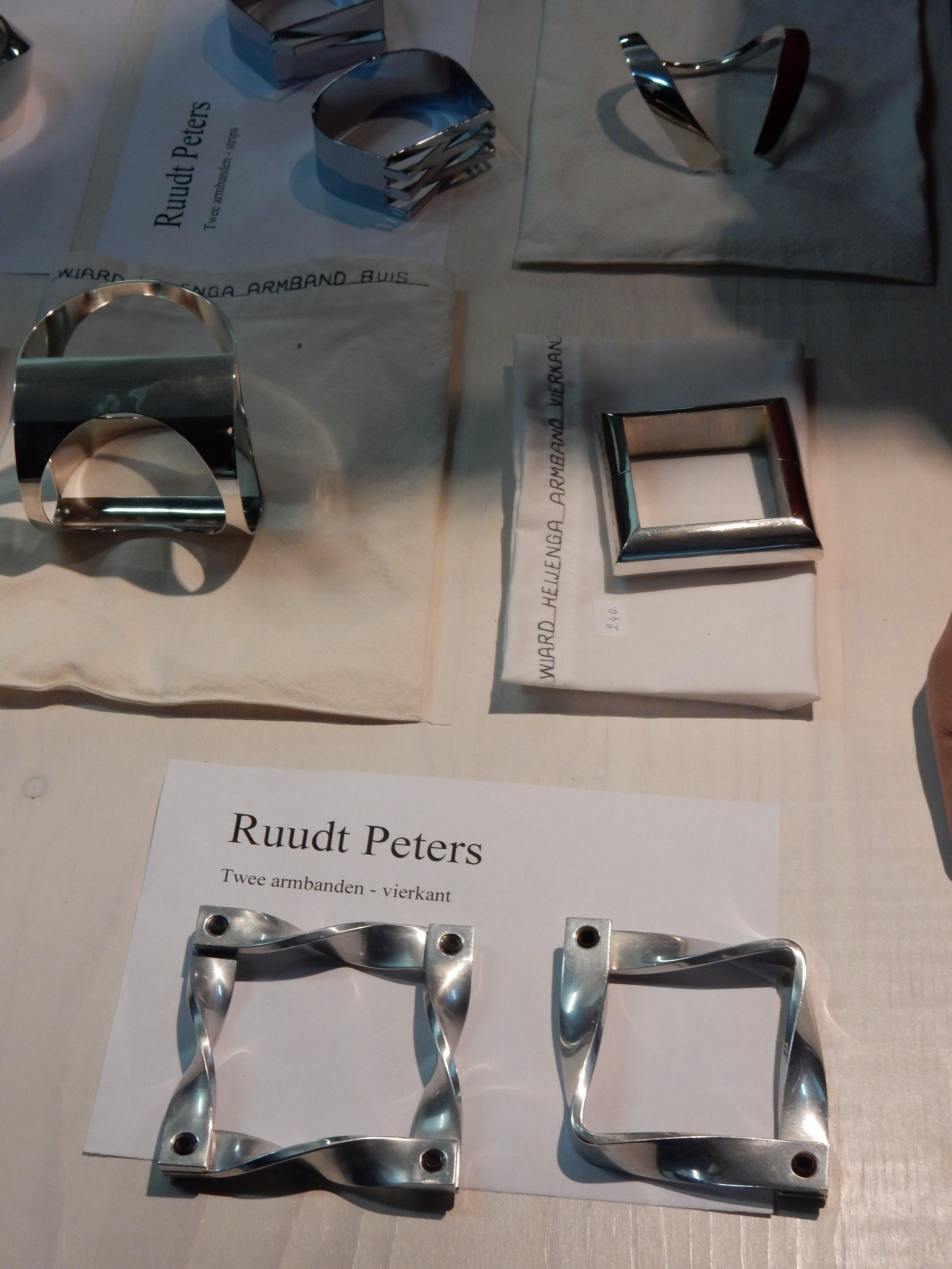 Bijeenkomst SSC 2016, armbanden, Ruust Peters, Ward Heijenga