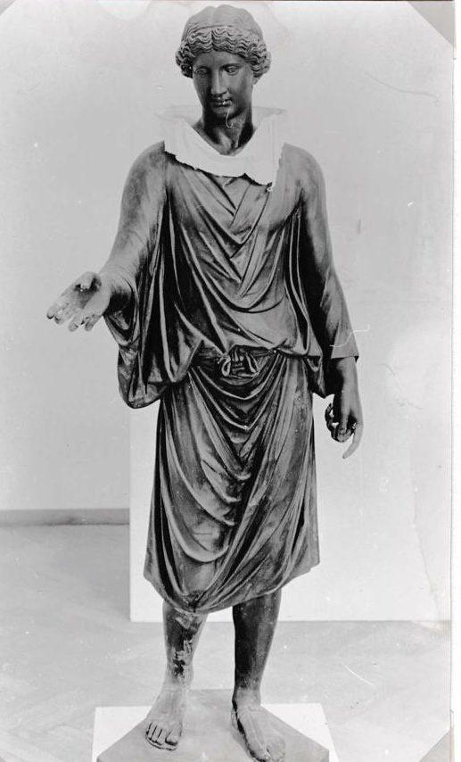 Ruudt Peters, halssieraad, Visies op sieraden, Stedelijk Museum, 1982, gipsafgietsel, tentoonstelling, foto Liesbeth den Besten