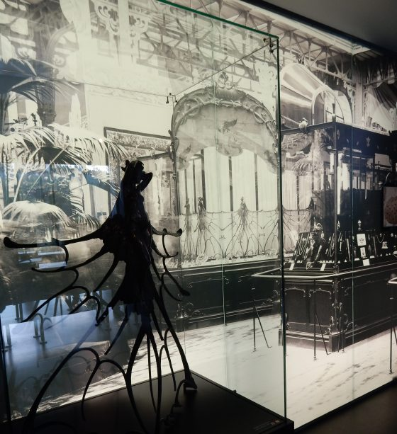 René Lalique, Musée Lalique, Wingen-sur-Moder, hekwerk, foto, Wereldtentoonstelling, vitrine