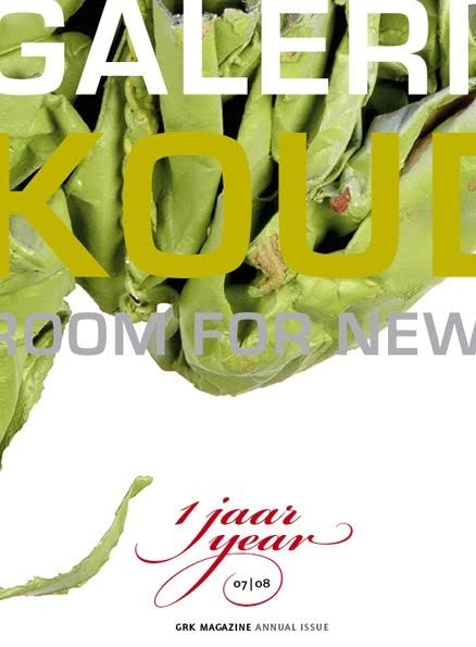 Omslag Magazine Galerie Rob Koudijs 1 jaar