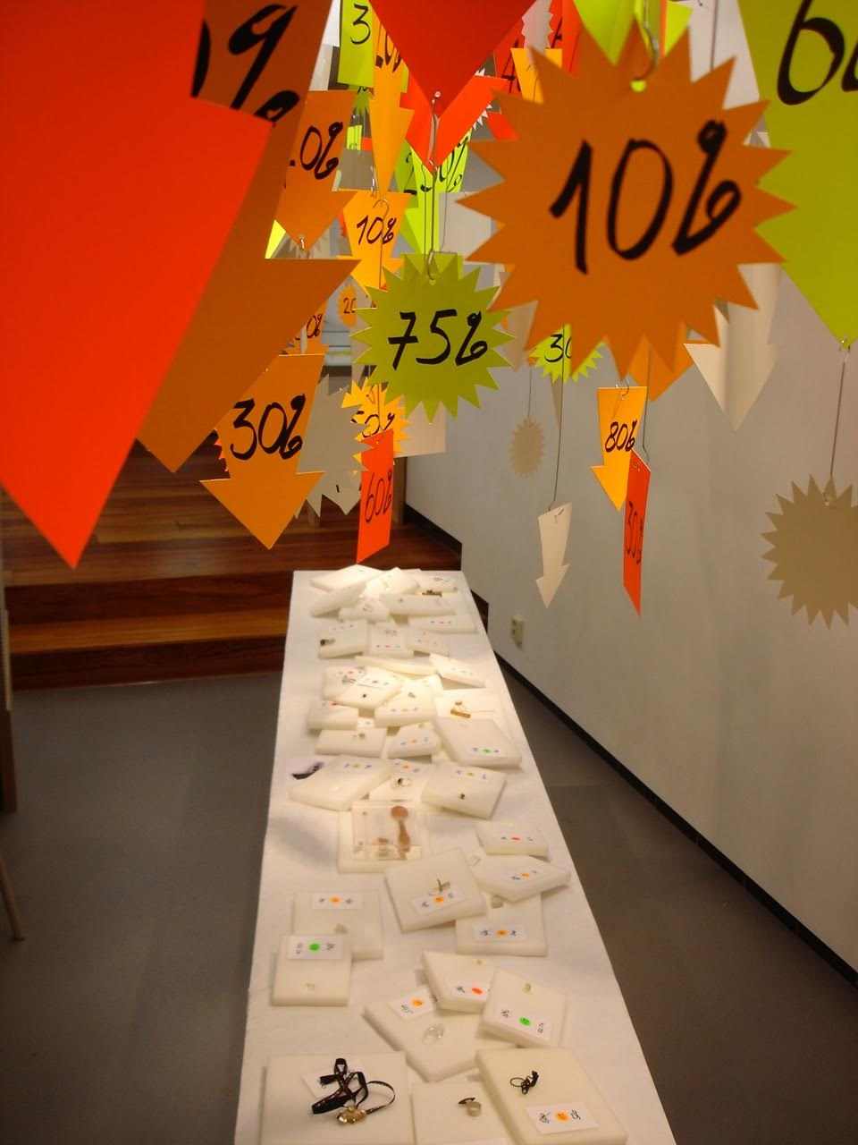 Impulsen, Week 1, Ted Noten, sales, Galerie Rob Koudijs, 2008, tentoonstelling