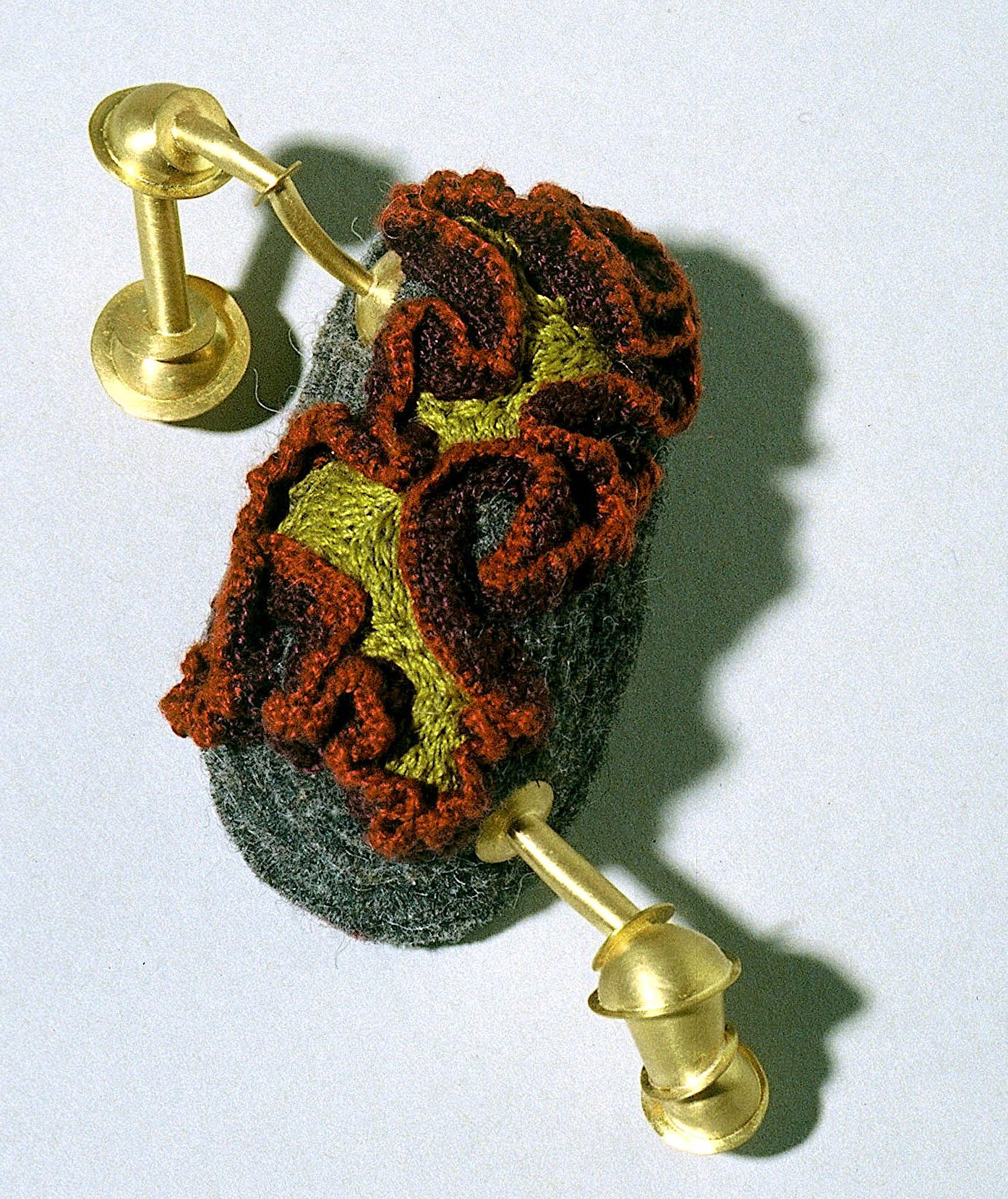 Andrea Wagner, Arcadian Consort, Wonderbliss, textiel, goud