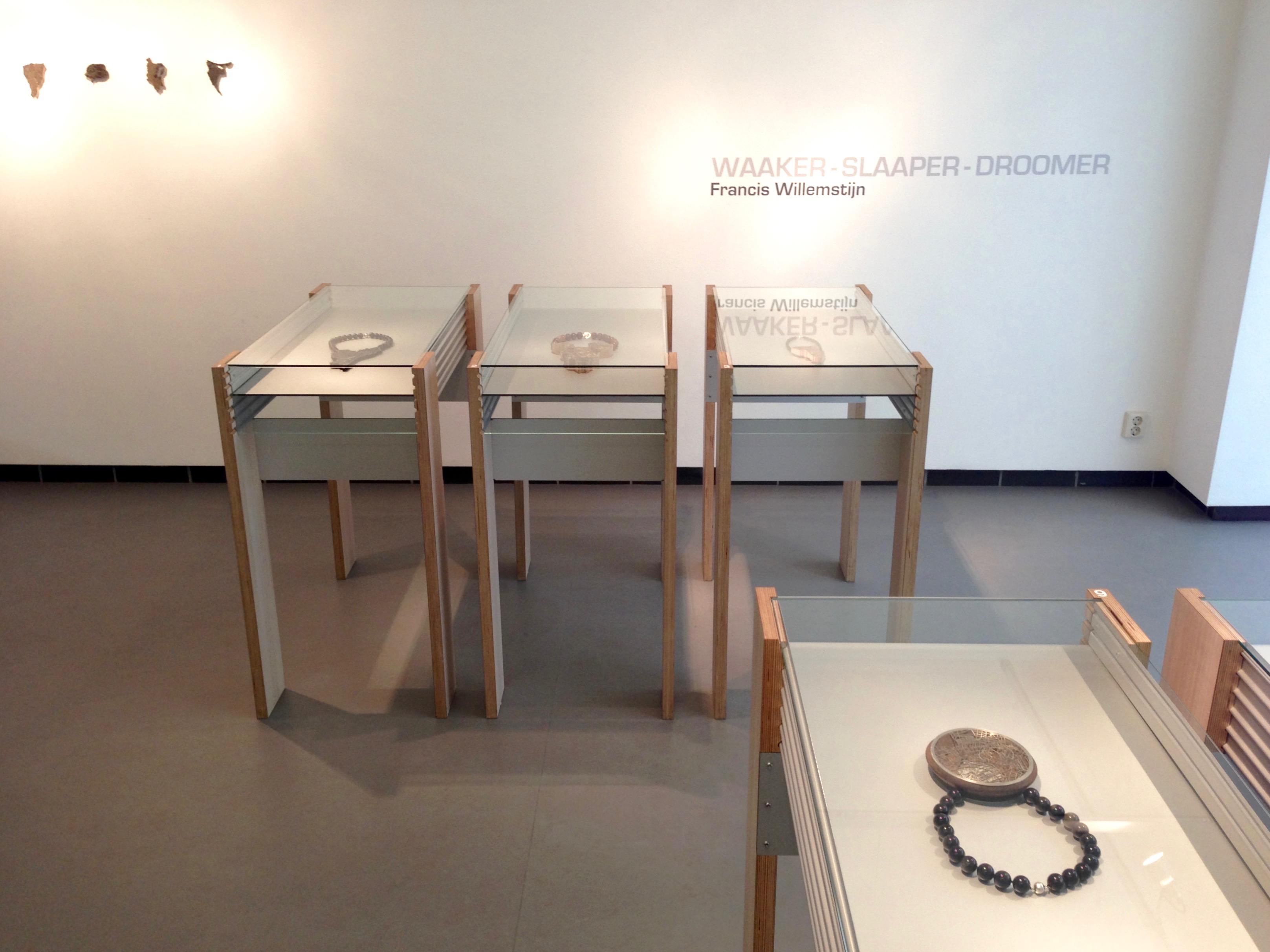 Francis Willemstijn, Waaker - Slaaper - Droomer, Galerie Rob Koudijs, 2016, tentoonstelling