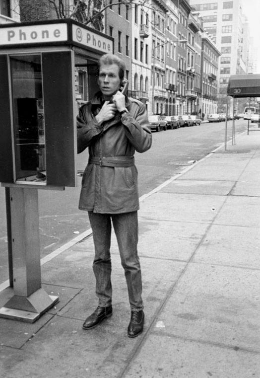 Hans Appenzeller op Madison Avenue. Foto Manfred Kausen, portret