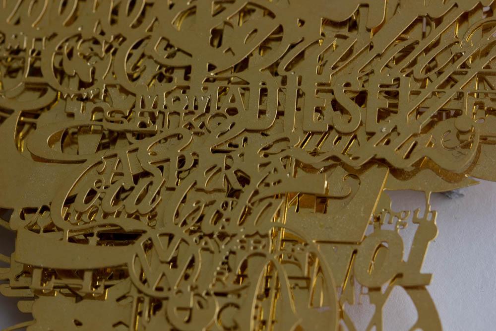 Frank Tjepkema, Branded Soul, detail hanger, 2003