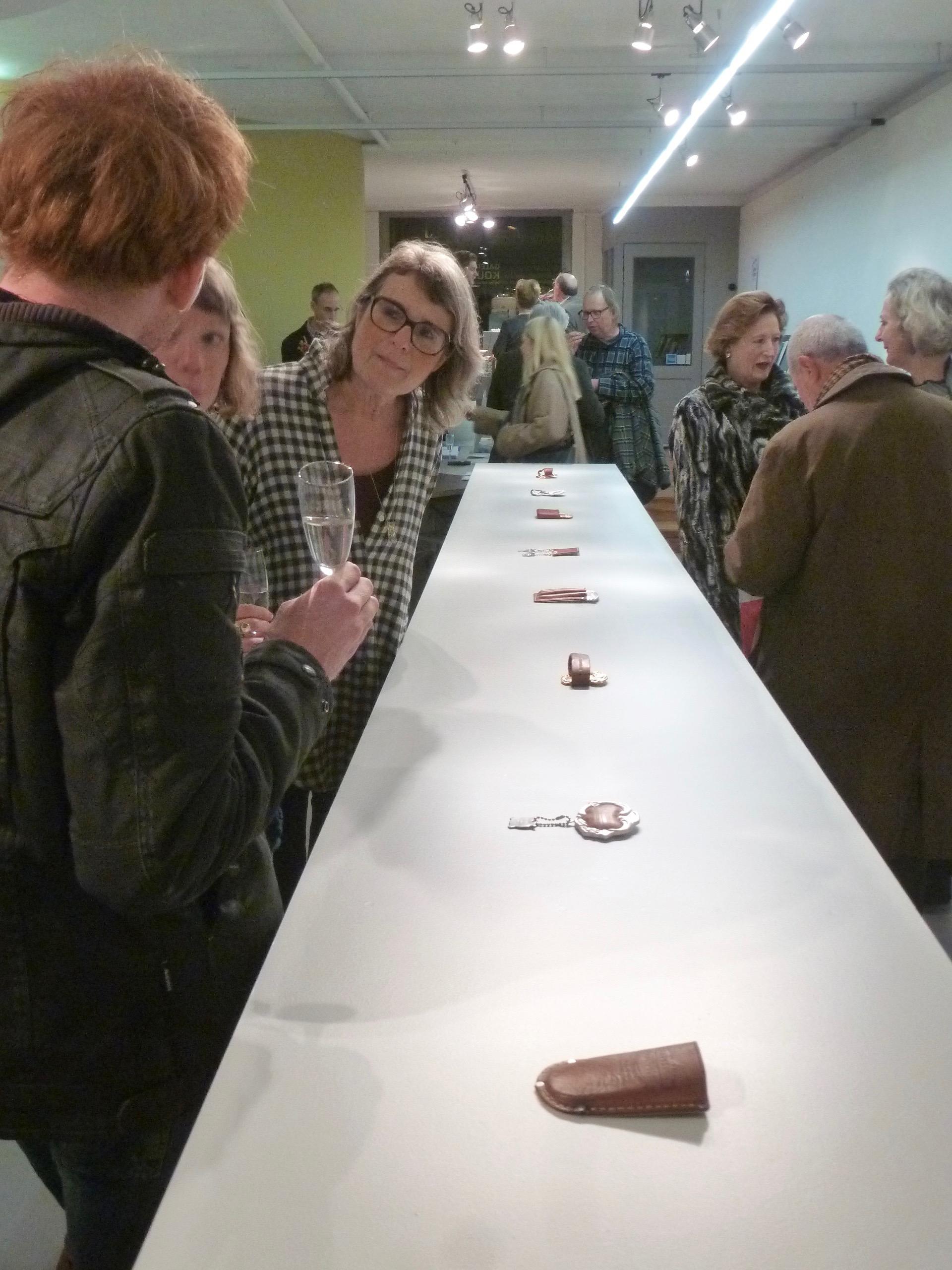Tobias Alm, The Châtelaine, Galerie Rob Koudijs, 2016, tentoonstelling, opening, Koen Jacobs, Elwy Schutten, Liesbeth den Besten