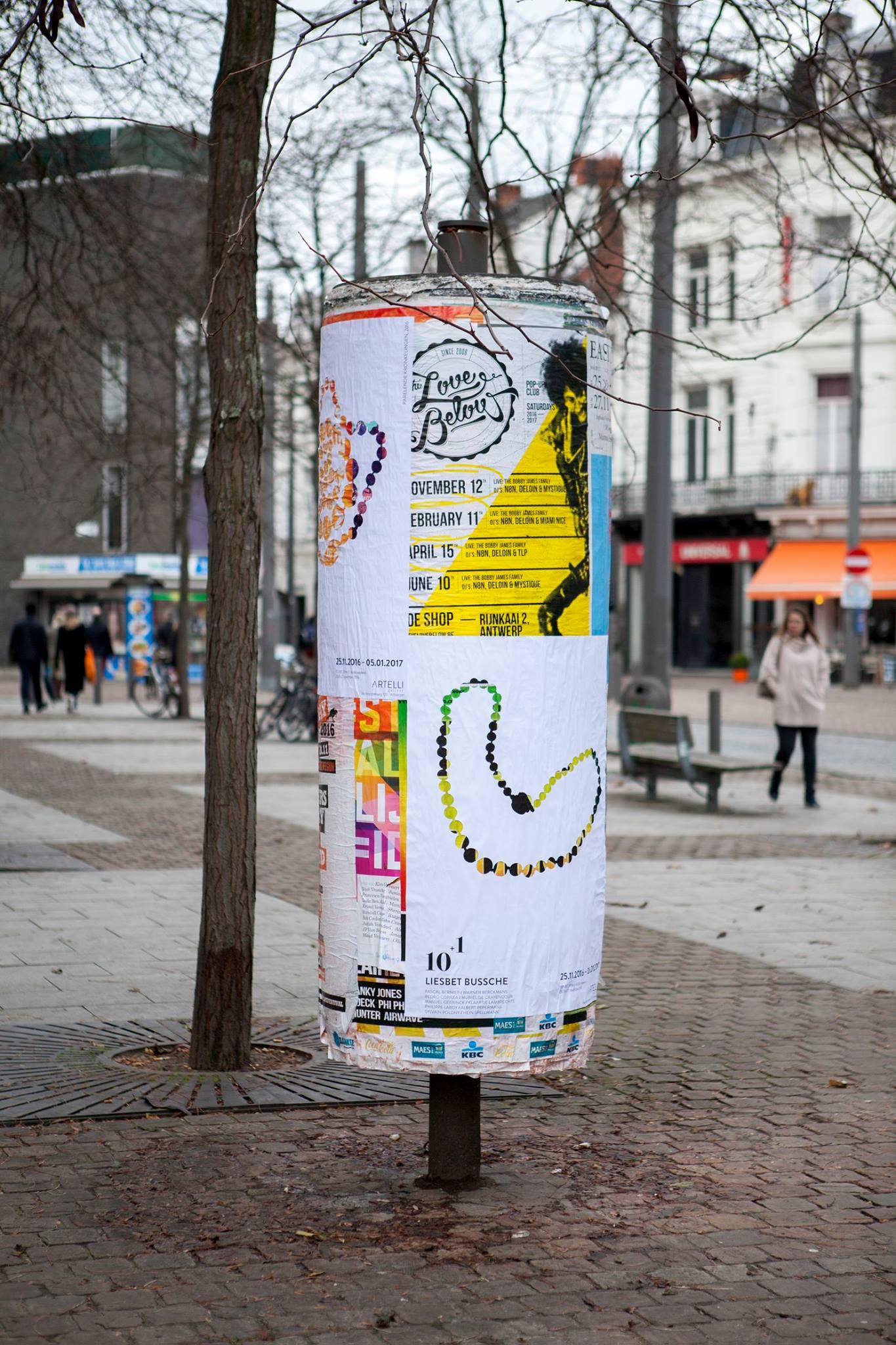 Liesbet Bussche, poster, 2016, drukwerk, papier