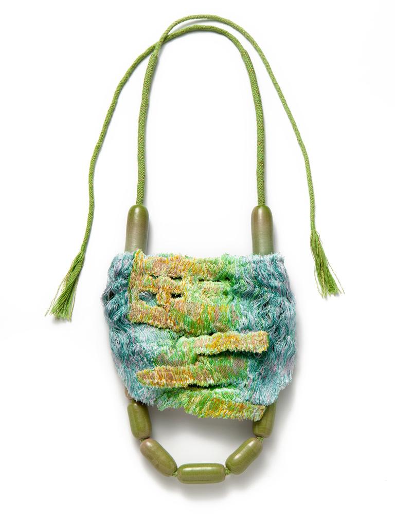 Ineke Heerkens, Fury Forest, 2013-2014, textiel, keramiek