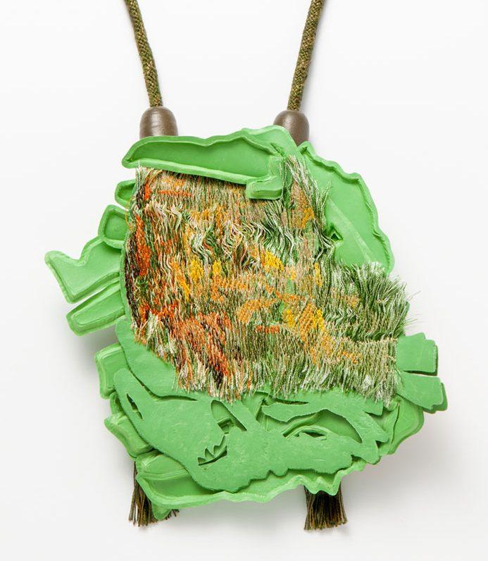 Ineke Heerkens, Sensual Shrubbery, 2013-2014, textiel