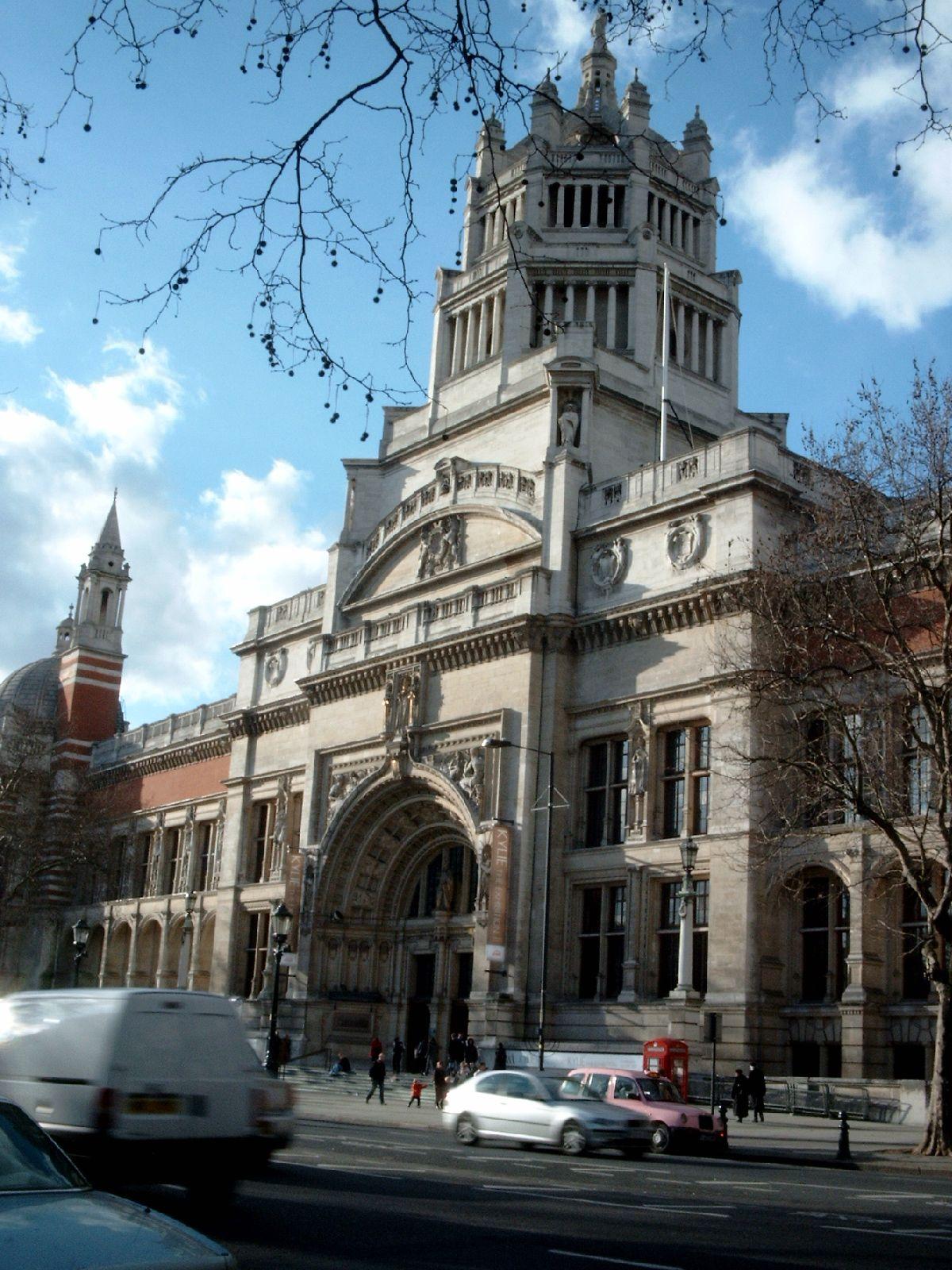 Victoria and Albert Museum. Foto met dank aan Wikimedia Commons, Wasily, CC0 1.0