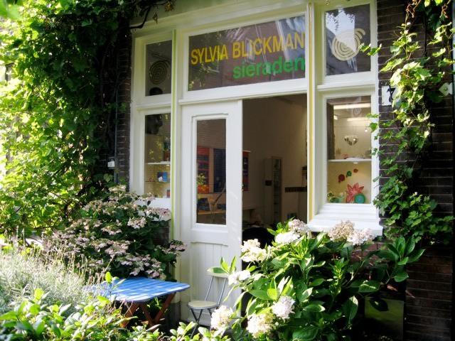 Atelier van Sylvia Blickman, Haarlem, gevel