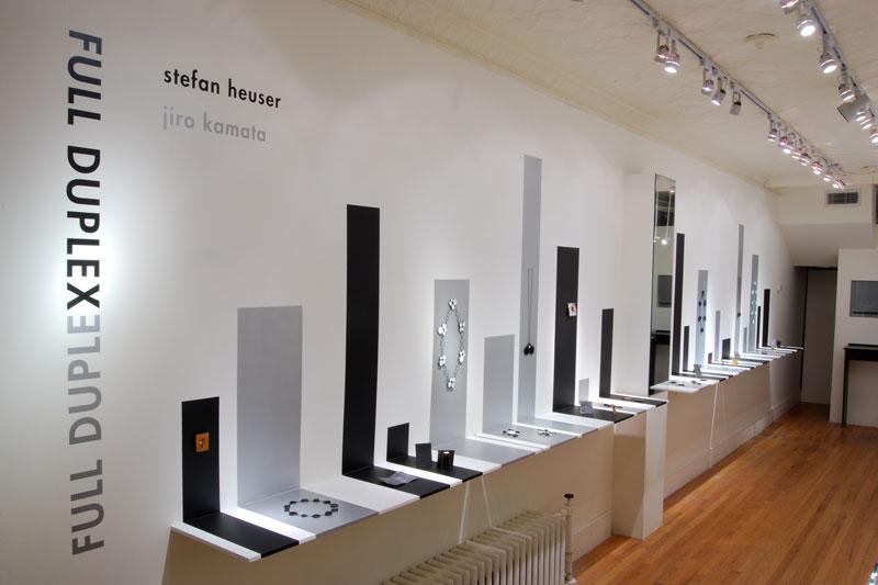 Stefan Heuser en Jiro Kamata, Full Duplex, tentoonstelling, halssieraden