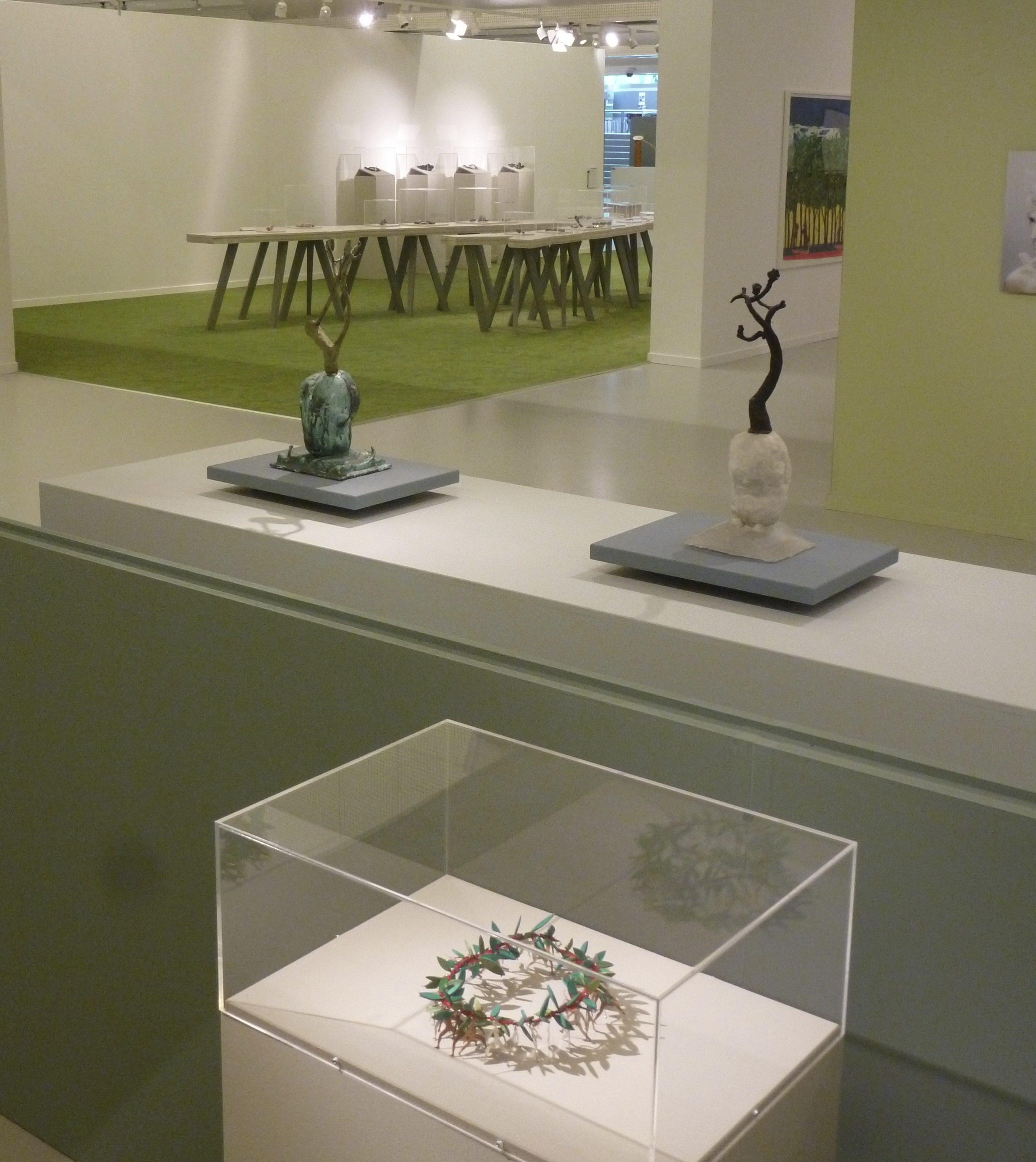 Inrichting Reinventing Nature in CODA door Ward Schrijver, 2014. Foto Ward Schrijver, tentoonstelling