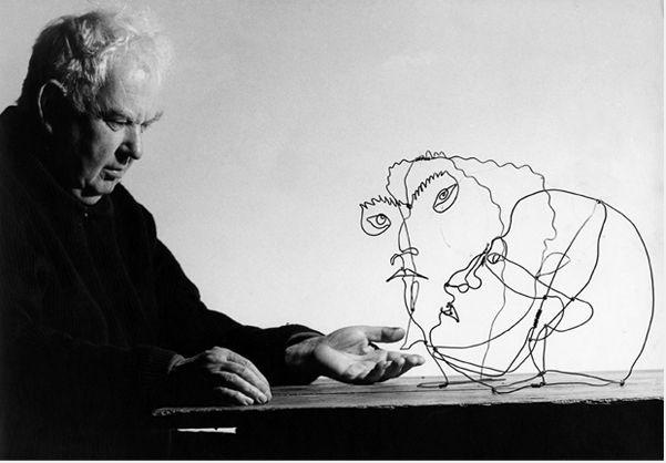 Alexander Calder. Courtesy of Louisa Guinness Gallery©