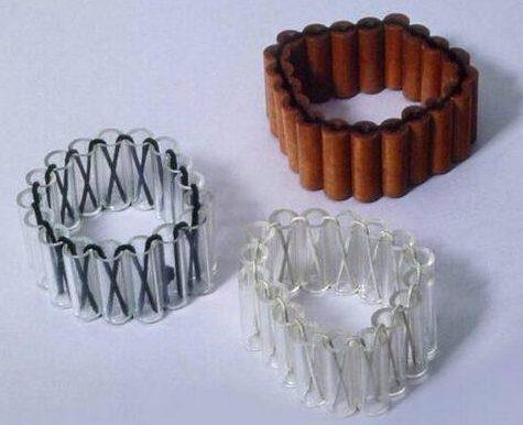 Hans Appenzeller, Serie Sieraad, armbanden, 1973. Foto met dank aan SMS©