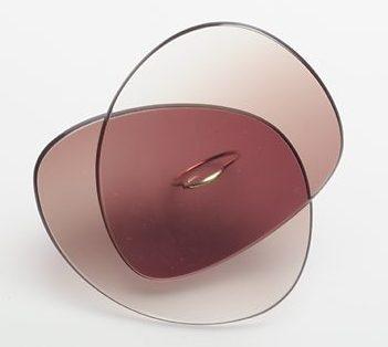 Jiro Kamata, Sunny Ring, 2005. Collectie Stichting Françoise van den Bosch, brilleglazen, goud