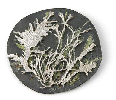 Marian Hosking, Coralline brooch, 2004, zilver