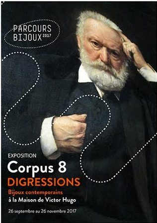 Corpus 8 Digressions, La Maison Victor Hugo, 2017. Foto met dank aan Florence Lehmann©