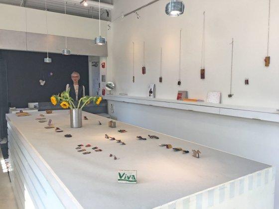 Jewelers' Werk Galerie. Foto met dank aan Jewelers' Werk Galerie©
