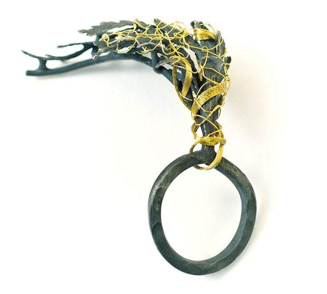 Mari Ishikawa, ring, 2007-2008, metaal
