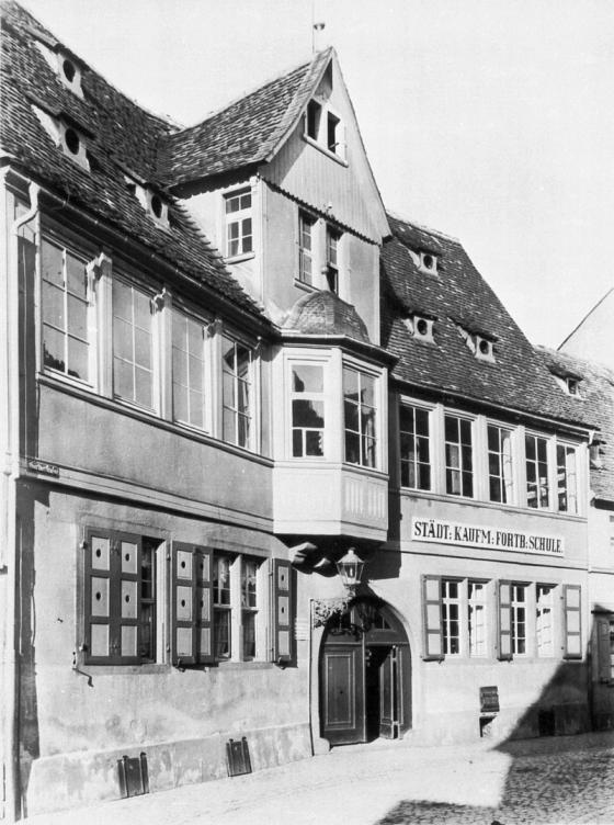 Staatliche Zeichenakademie Hanau, Gärtnerstraße. Foto Publiek domein (CC0 1.0)