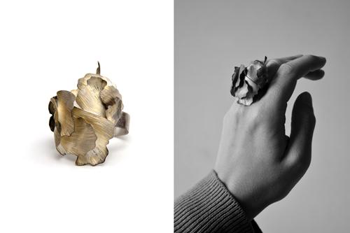 Aurélie Guillemin, ring. Foto met dank aan Galerie TACTILe©