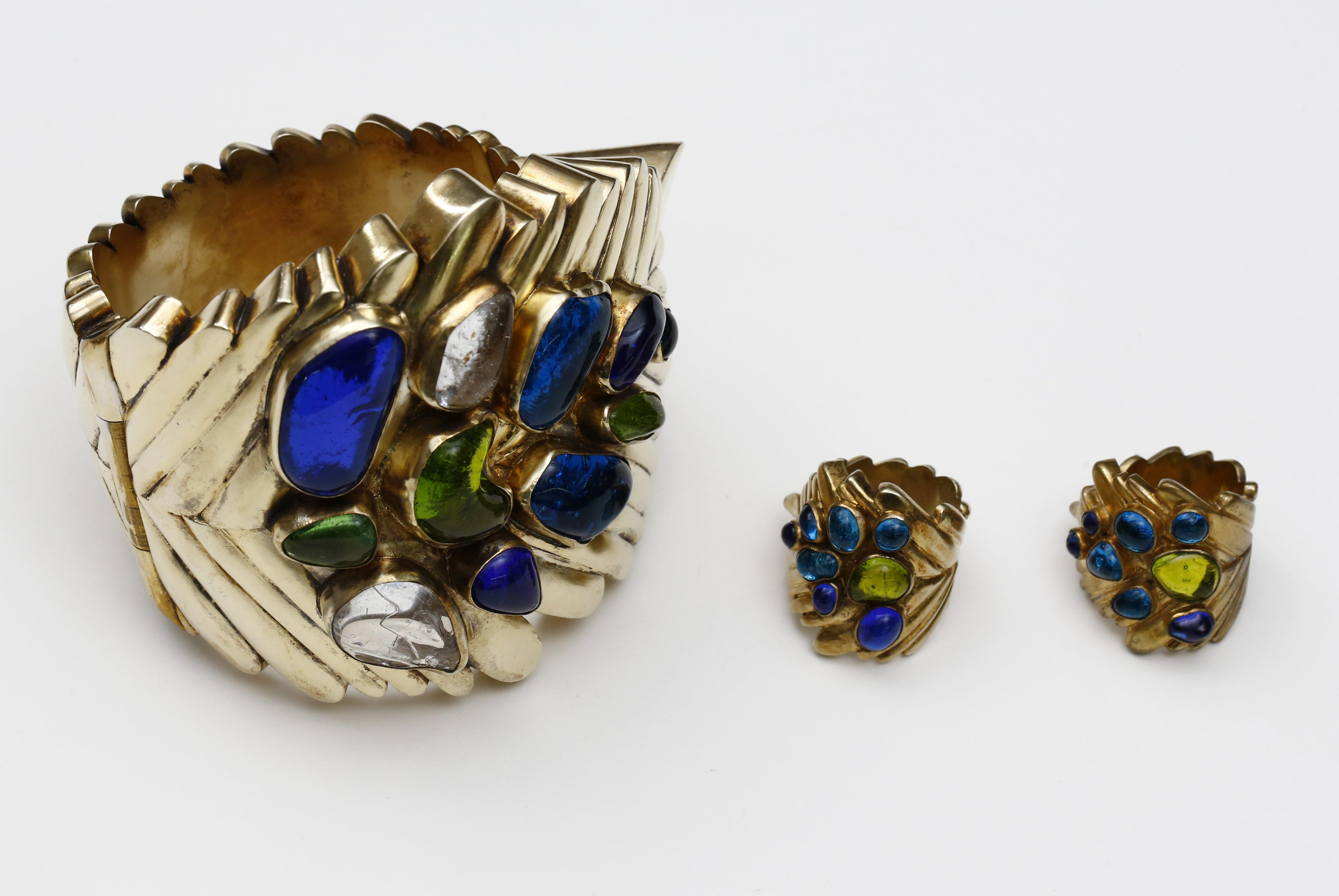 Ebbe Weiss-Weingart, armband, 1951, ringen 1945-1946. Foto met dank aan Deutsches Goldschmiedehaus, Uwe Dettmar©