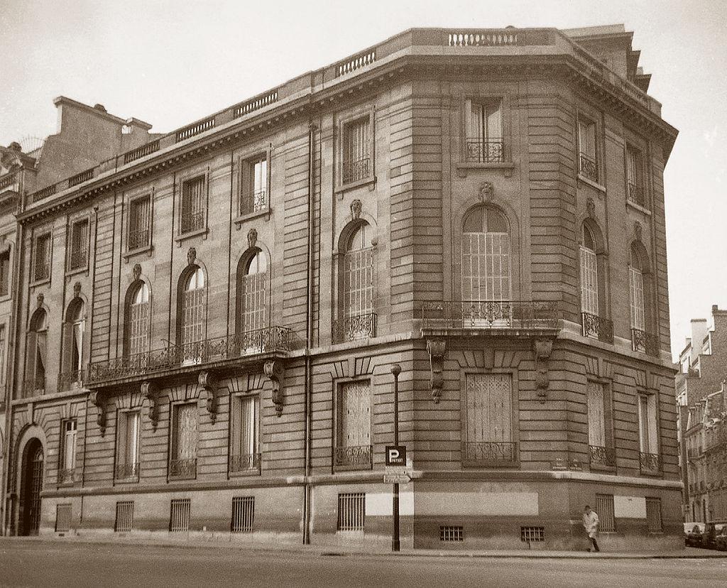 Huis van Calouste Gulbenkian aan 51 Avenue d'Iéna', Parijs. Foto CC0 1.0 Universal