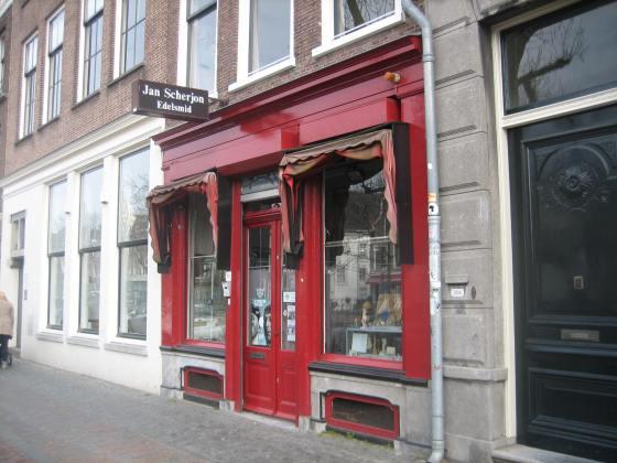 Jan Scherjon, Oudegracht 352 Utrecht, 25 maart 2018. Foto Esther Doornbusch, CC BY 4.0