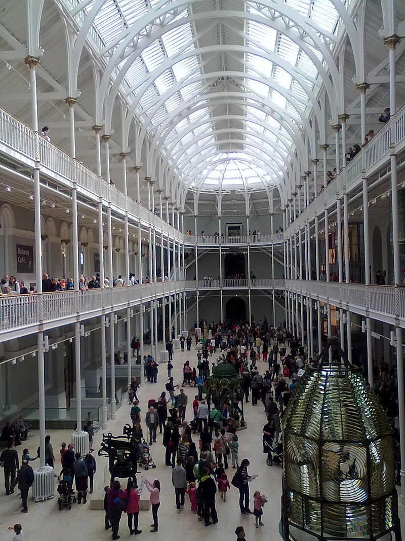 National Museum of Scotland, Edinburgh, 2011. Foto met dank aan Brian McNeil, CC BY-SA 3.0