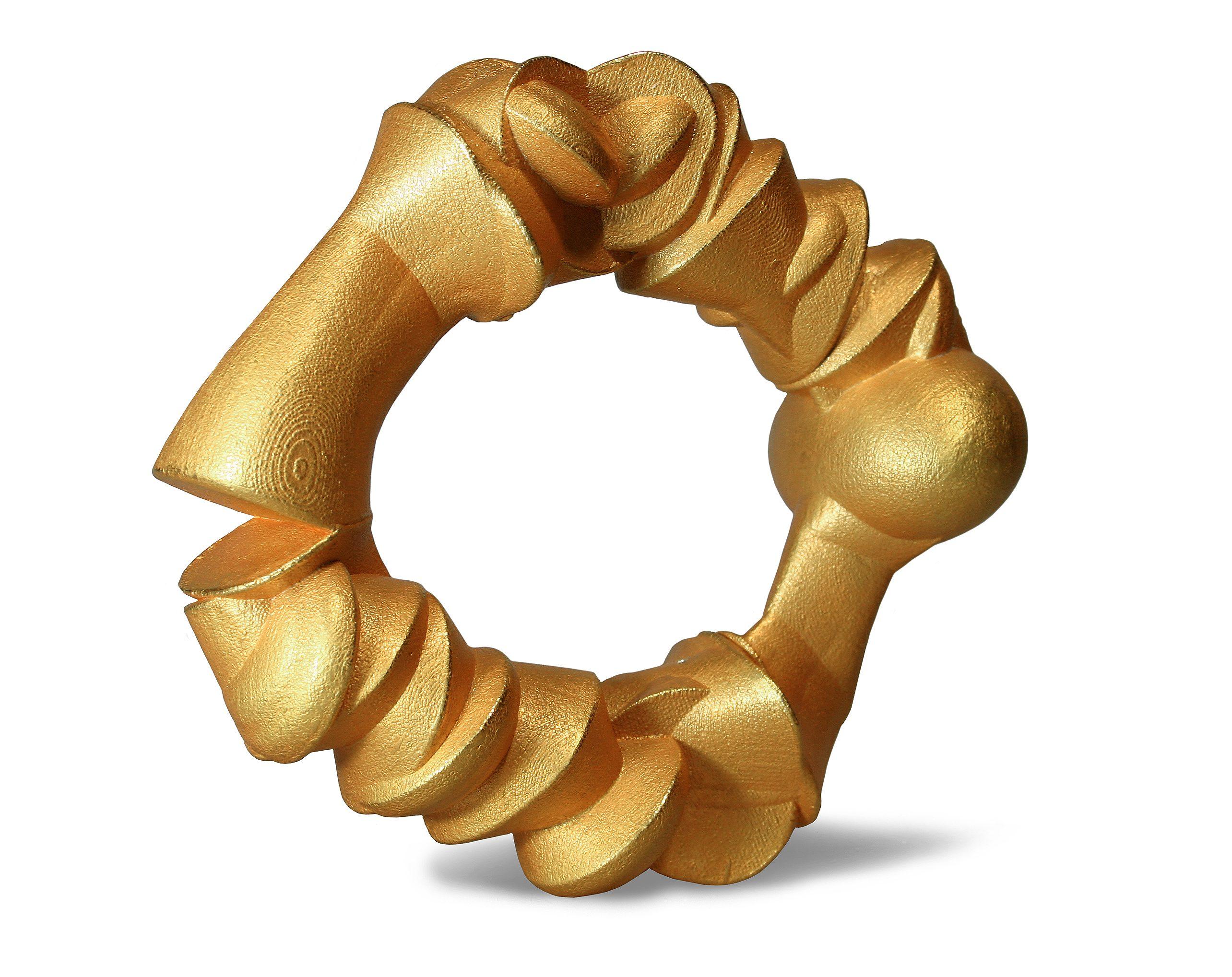 Beate Eismann, Golden Bones, armband, 2010