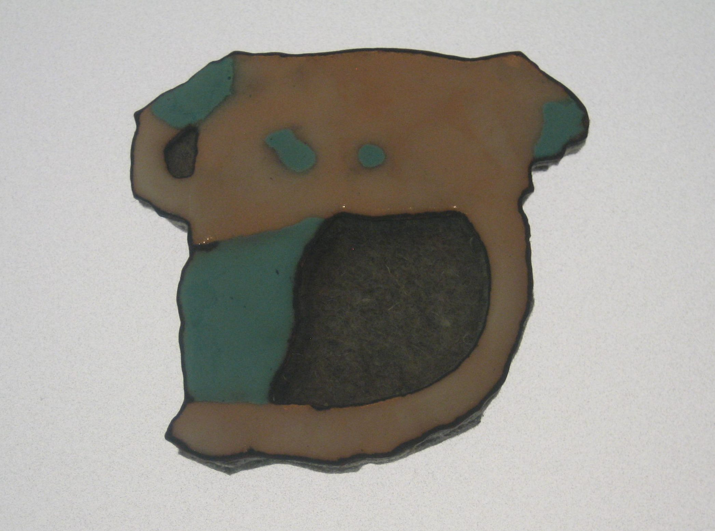 Beate Eismann, broche, broche, 2002. Collectie Grassimuseum
