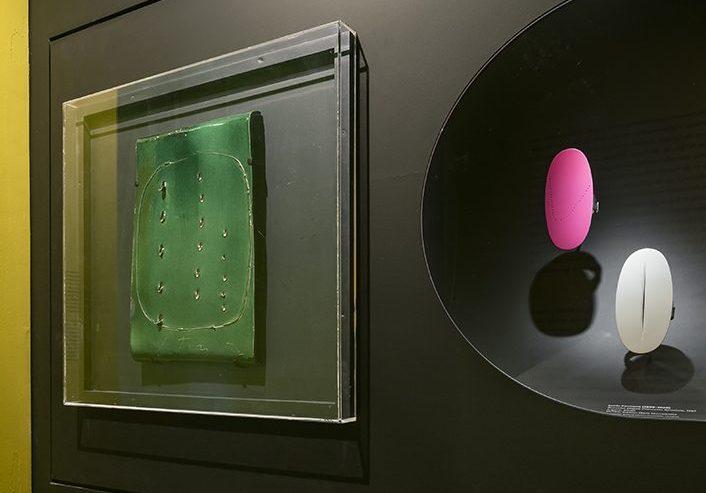 Lucio Fontana. De Calder à Koons, 2018. Foto met dank aan Musée des Arts Décoratifs Parijs, Luc Boegly©