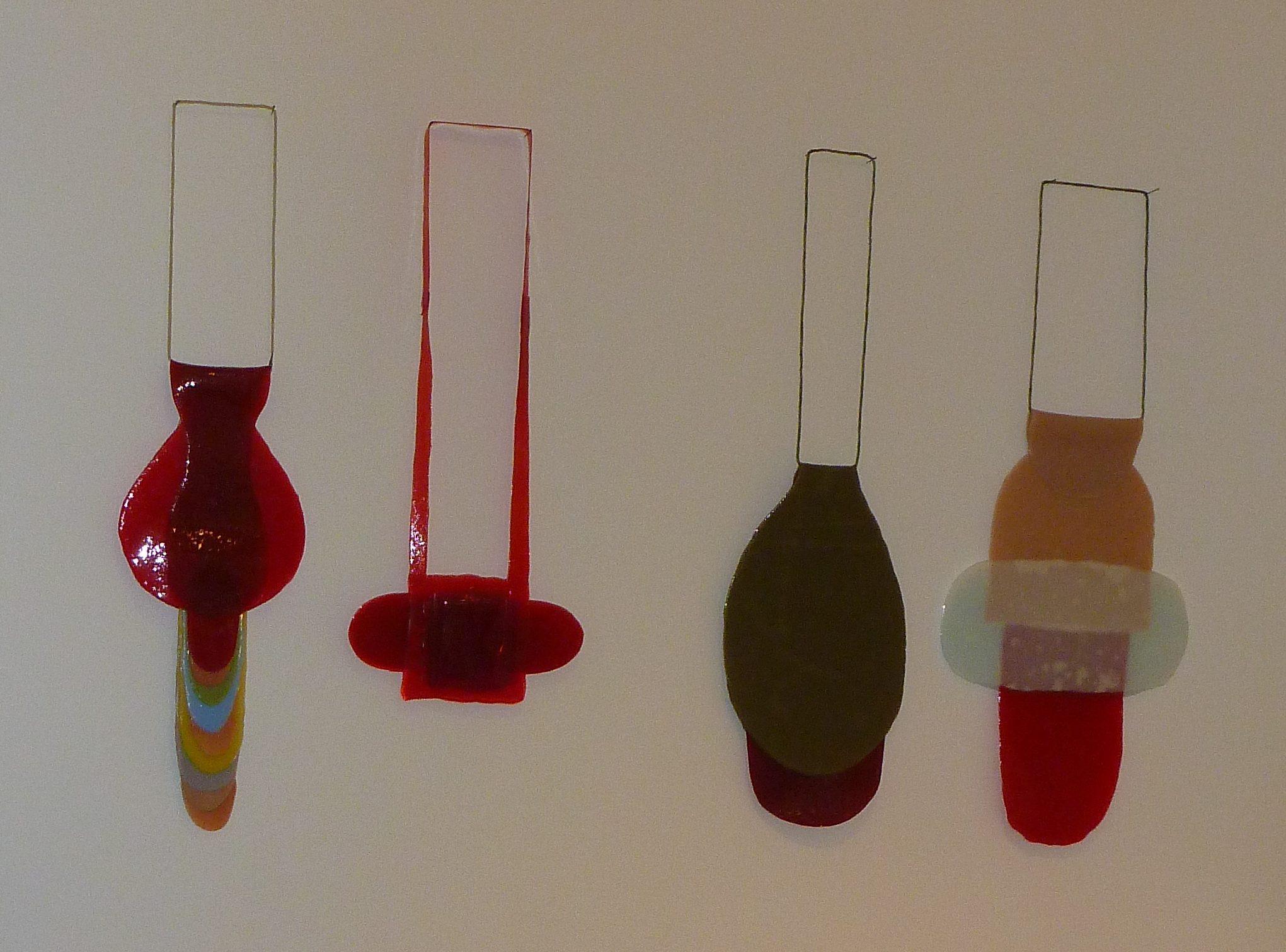 Ela Bauer, halssieraden in Galerie Ra, 2012. Foto met dank aan Ela Bauer©
