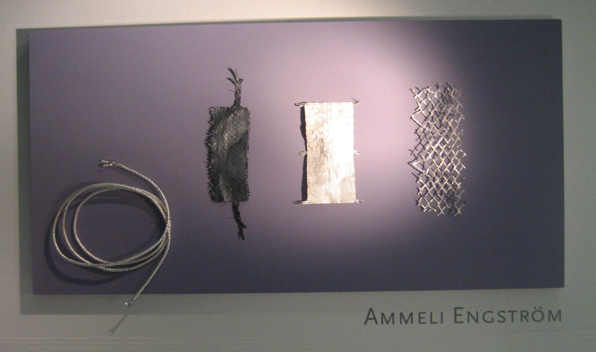 Ammeli Engström in Galerie Ra, 2018. Foto Esther Doornbusch, CC BY 4.0