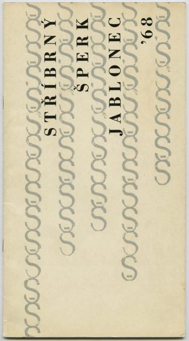 Catalogus Jablonec '68. Foto met dank aan Die Neue Sammlung, Adolf Vrhel©