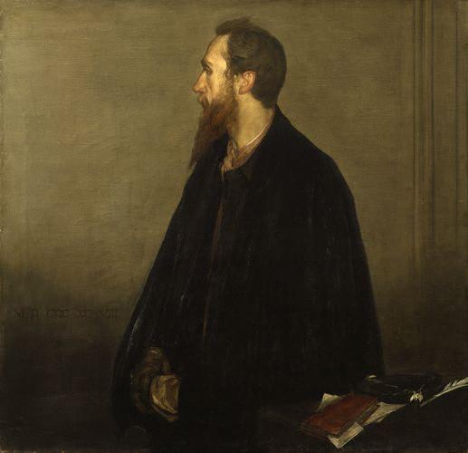 Charles de Sousy Ricketts geschilderd door Charles Haslewood Shannon, 1898, Collectie National Portrait Gallery. Foto met dank aan Wikimedia Commons, publiek domein (CC0 1.0)
