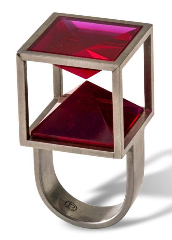 Friedrich Becker, ring. Collectie Ida Boelen-van Gelder. Fotografie Aldo Smit©