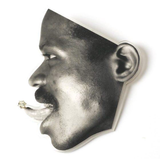 Gijs Bakker, Tongue, broche, 1985. Foto met dank aan CODA©
