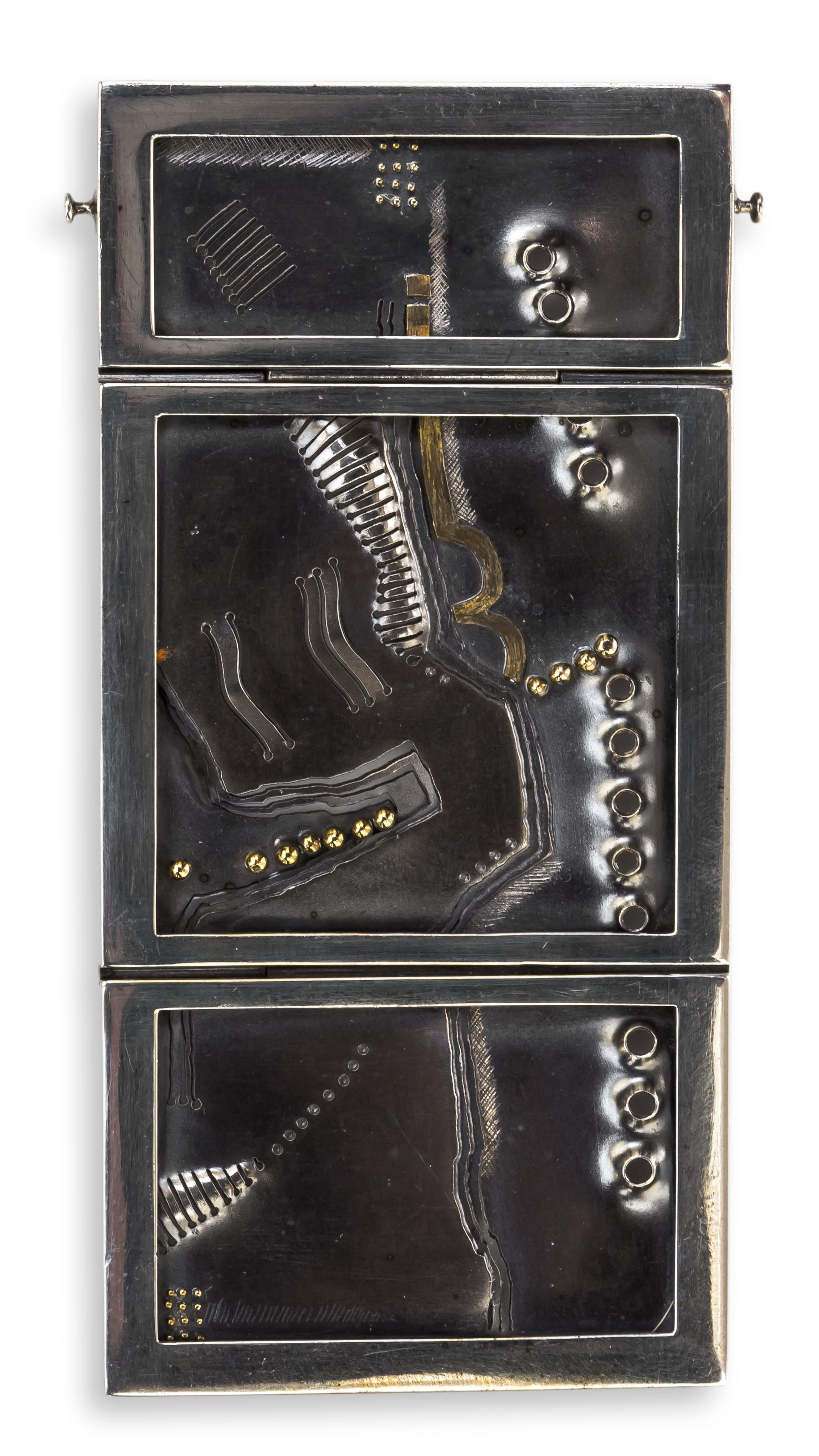 Rüdiger Lorenzen, halssieraad, detail, 1970. Collectie Ida Boelen-van Gelder. Fotografie Aldo Smit©