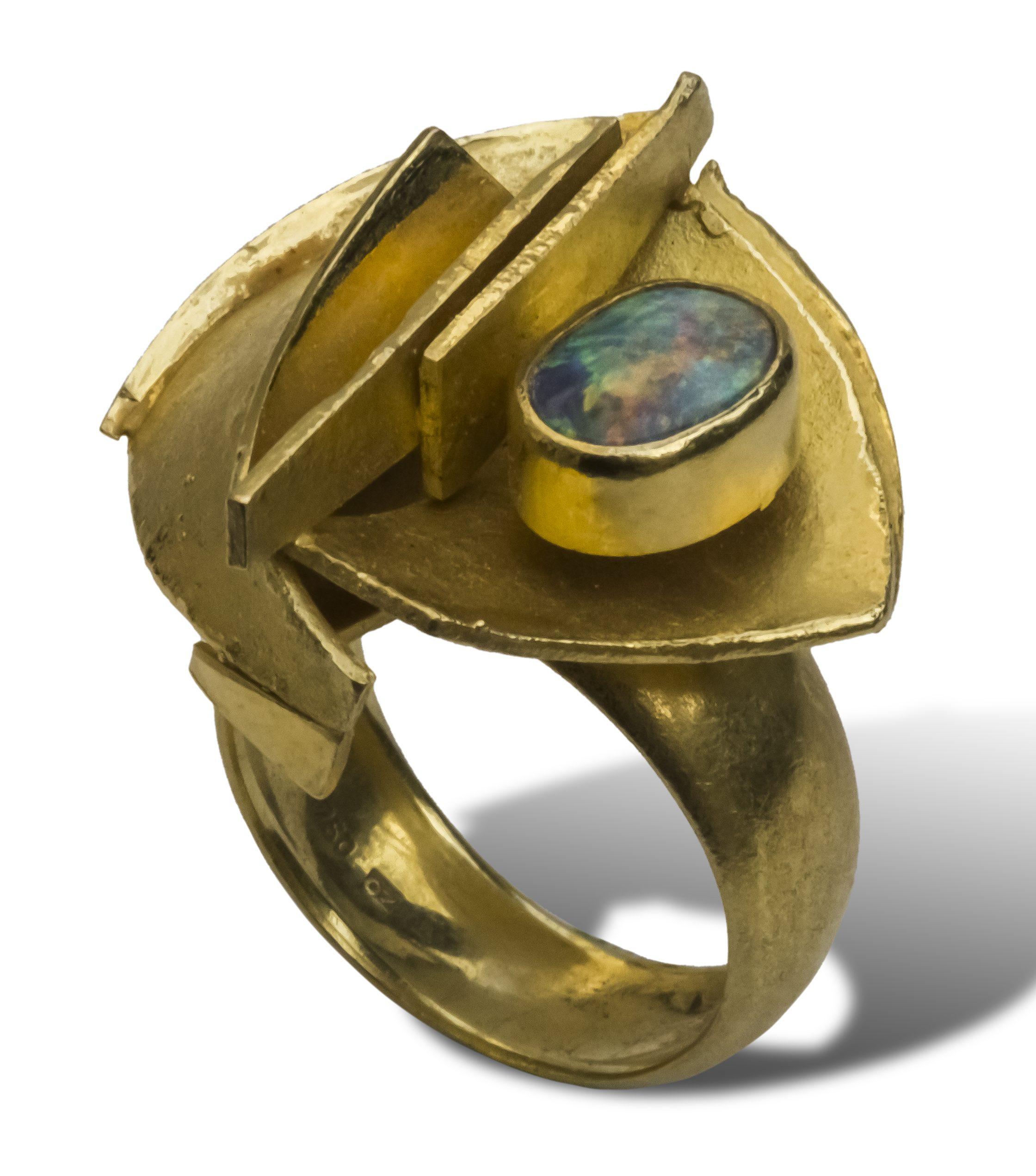 Othmar Zschaler, ring, 1968. Collectie Ida Boelen-van Gelder. Fotografie Aldo Smit©
