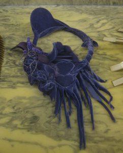 Daniel von Weinberger, Purple 3, halssieraad, 2010. Collectie S. Thierry-de Saint Rapt. Foto Esther Doornbusch, 23 november 2018©