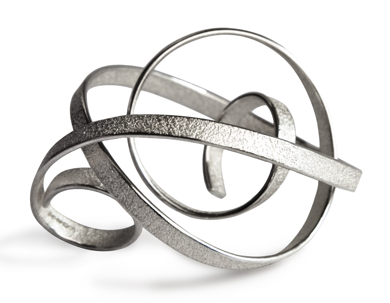 Ute Decker, Curl, ring, metaal