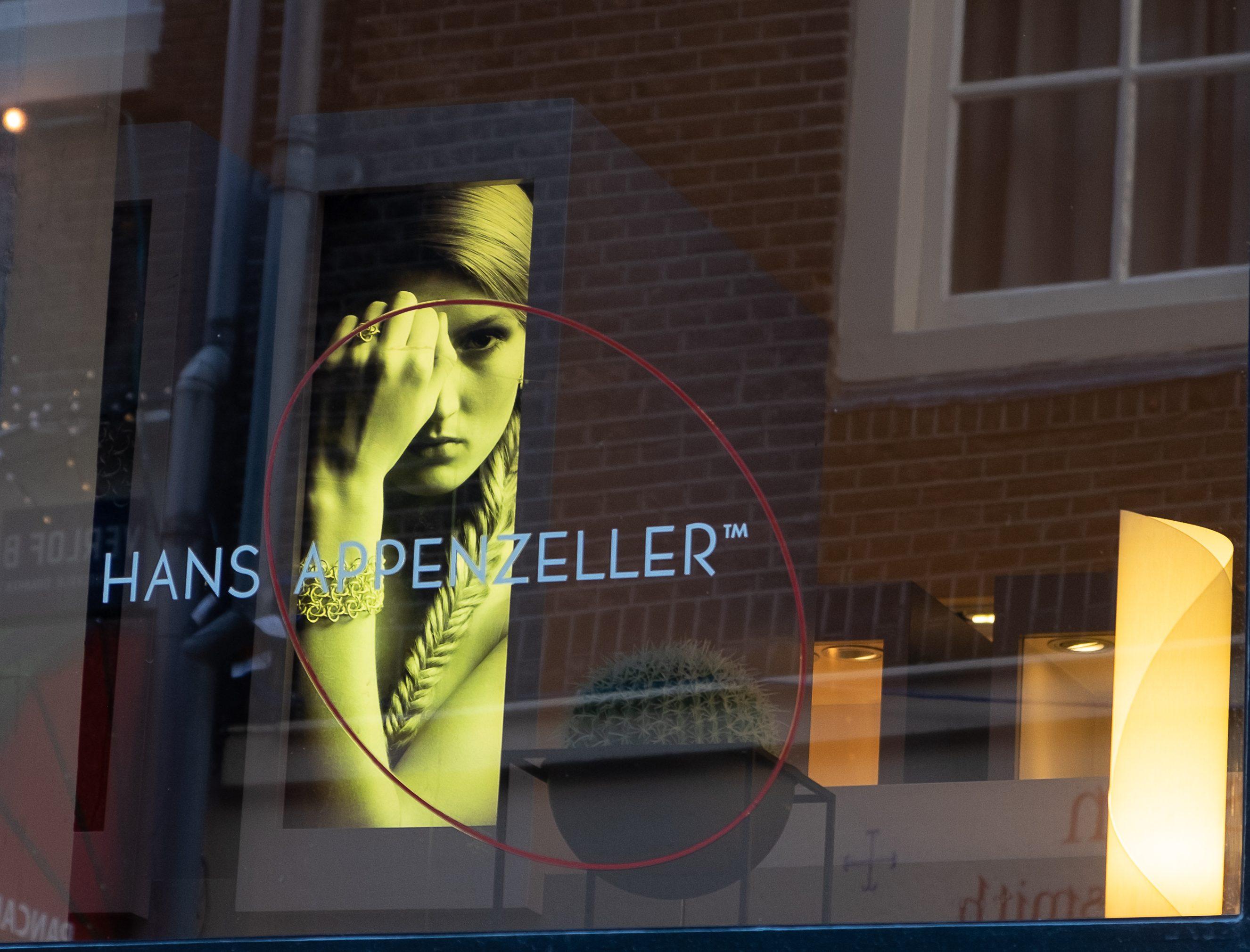 Hans Appenzeller, Sieradenkwartier Amsterdam, februari 2019. Foto met dank aan M.O.©