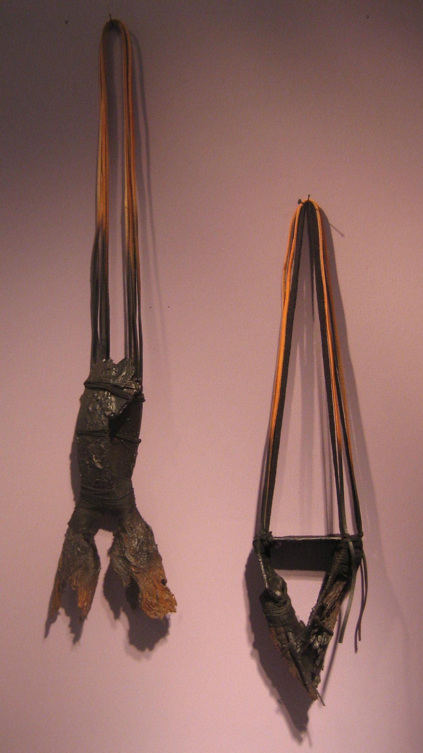 Jorge Manilla, halssieraden, Galerie Ra, 15 februari 2019. Foto Esther Doornbusch, CC BY 4.0