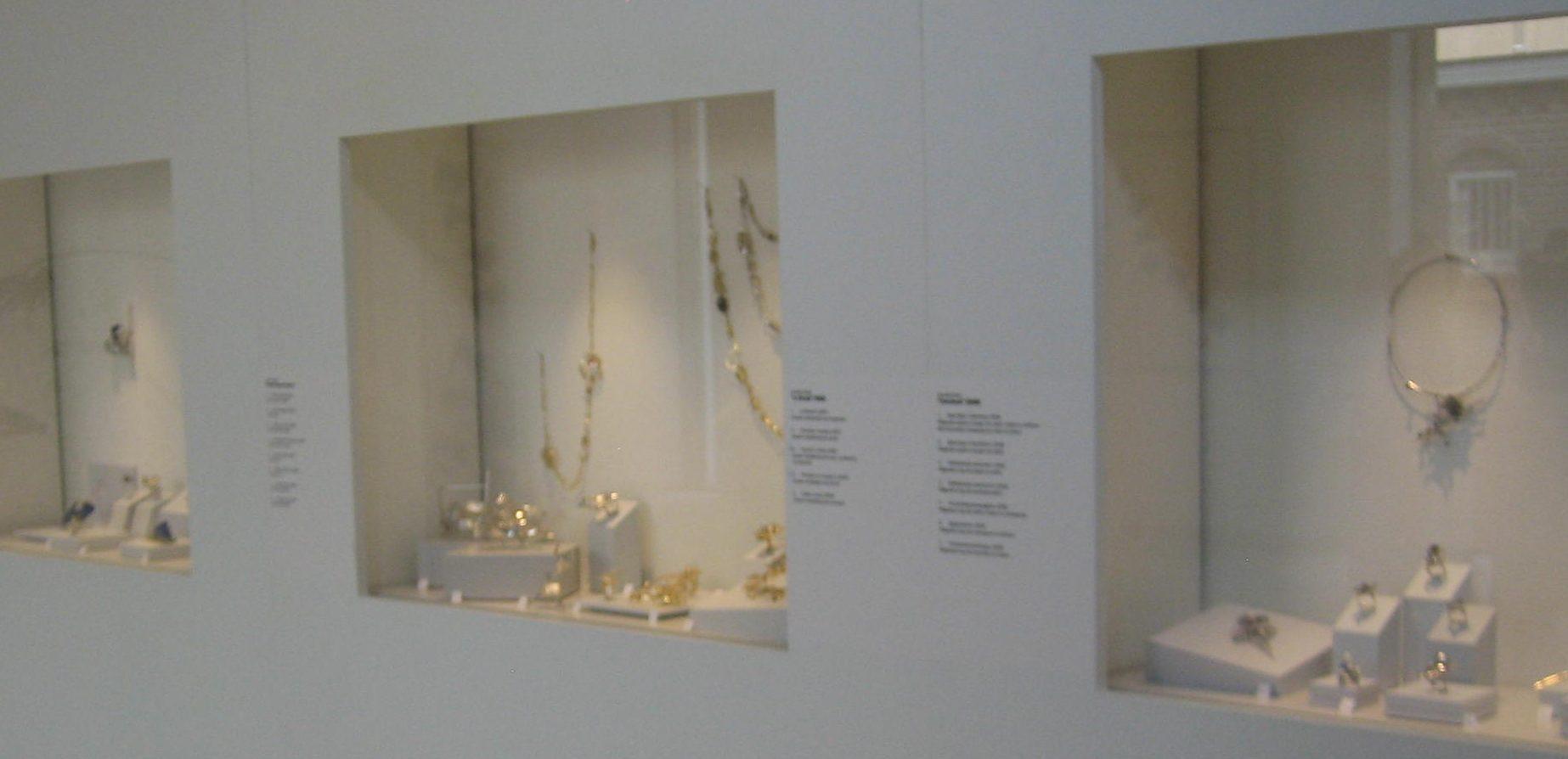 Anneke Schat in Museum Van der Togt, februari 2019. Foto Esther Doornbusch, CC BY 4.0