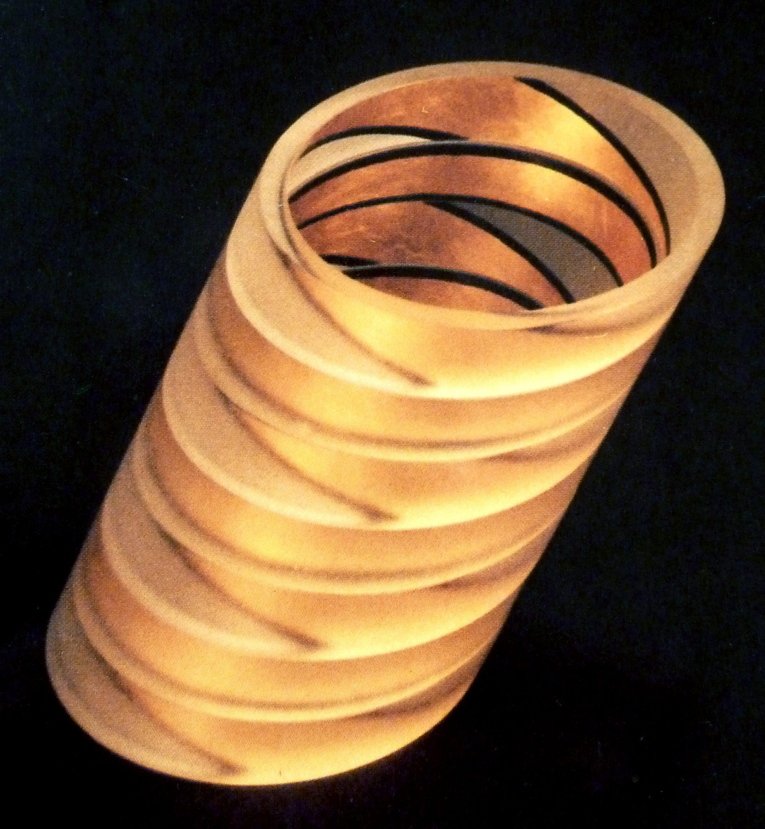 Bel Design, Eleonoor van Beusekom, Birgit Laken, armbanden, circa 1985. Foto met dank aan Birgit Laken, acrylaat, bladgoud, lak